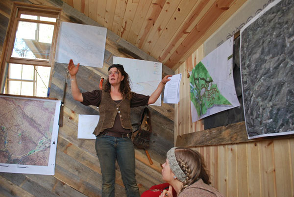 teaching permaculture design through mapping