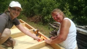 women doing woodworking