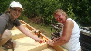 women doing woodworking