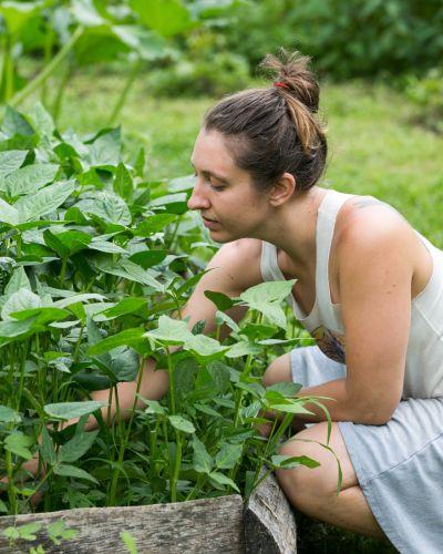 female wild abundance apprentice gardening