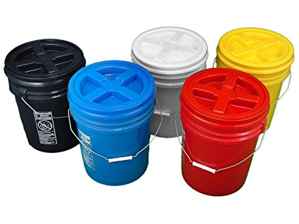 gamma seal buckets for food storage