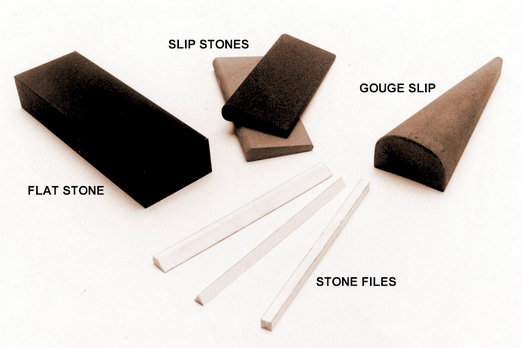 various sharpening stones