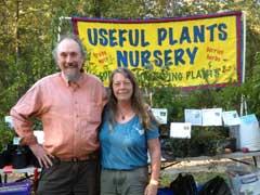 Useful plants nursery Chuck and Debbie