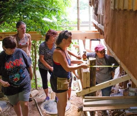 women's carpentry