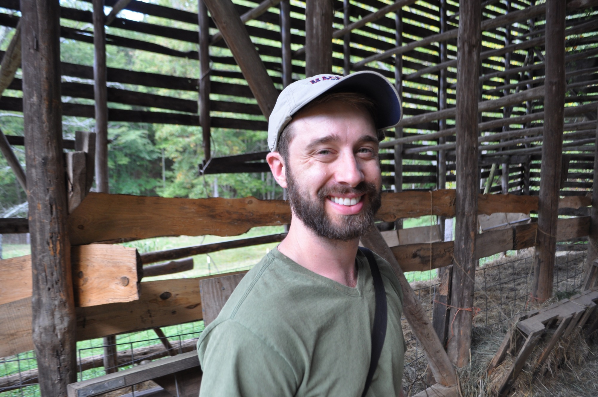 Josh Riley permaculture design course student