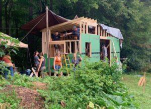 class building a tiny house