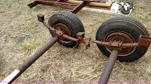 mobile home wheel kit for moving a tiny house