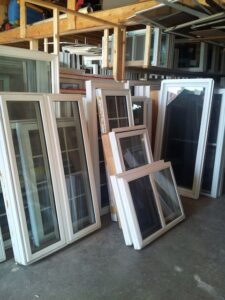 used windows for a tiny house