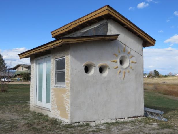 Hemcrete tiny house